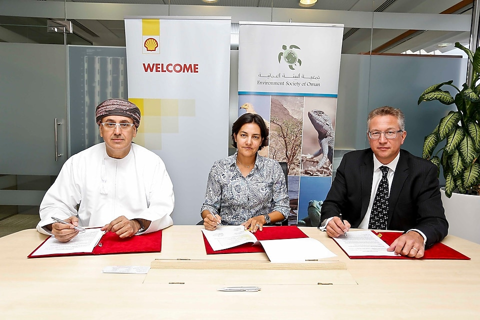 Shell and Eso signing an agreement