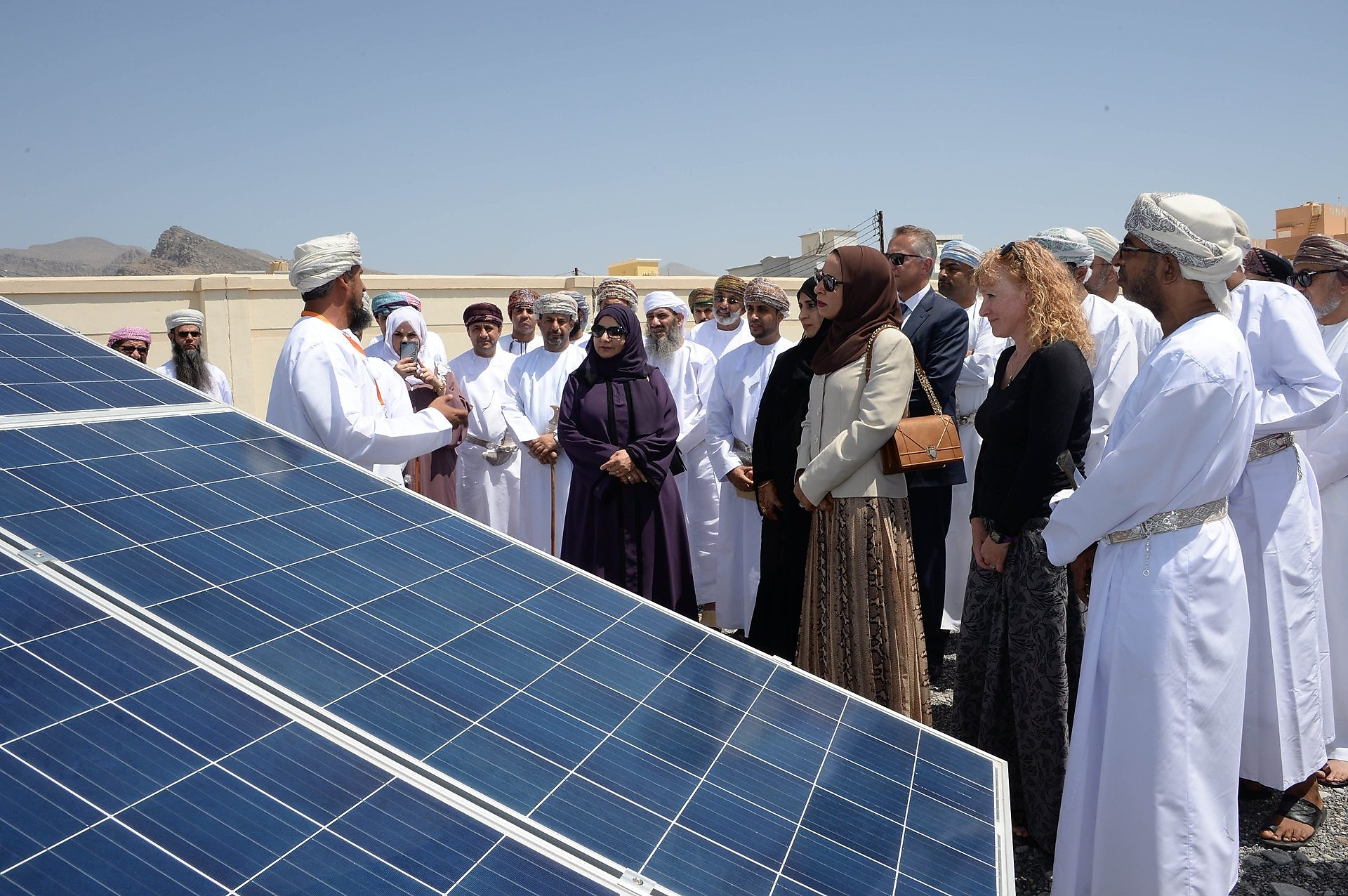 Shell Oman launched its 'Solar into Schools'